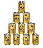10er Pack Kamingel - Brenngel - Gelkamine - Ethanolkamine - Gartenfeuer - Feuer - Anzünder - Brennstoff - Gelkaminen - Gelbrennern - Feuertöpfen - Feuersäule - Brenndosen - Feuergel - 10 x 400ml