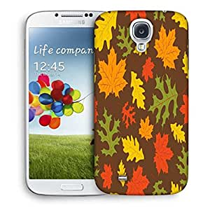 Snoogg Multicolor Leaves Designer Protective Phone Back Case Cover For Samsung Galaxy S4