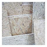 1m² saldi di 15mm OSB/3 Pannelli a scaglie orientate tagliati a uso luogo umido nella norma DIN EN 300 scampoli di pannelli strutturali di legno