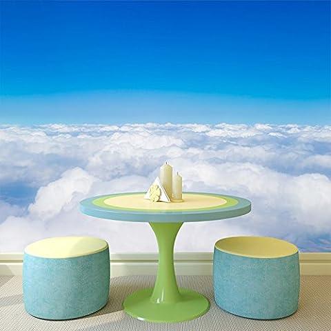 Cielo azul y nubes blancas visión aérea cielos Imagen de pared de la foto de fondo de pantalla disponible en 8 tamaños Gigantesco Digital