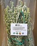 Griechischer Bergtee Premium Qualität von Olympus - Natürlich getrocknet - Ganze Stiele und Blüten (200 gr. Packung)