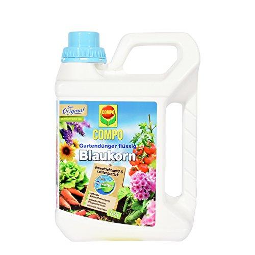 COMPO 1202402 Blaukorn NovaTec flüssig, Universaldünger für den Garten, 2,5 Liter - 2.5% Flüssig