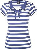 Küstenluder Damen Oberteil Lianne Sailor Streifen Shirt Blau M