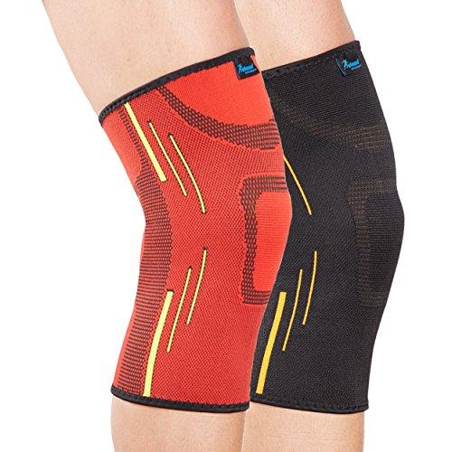 ginocchiera-tubolare-actesso-rosso-piccola-compressione-elastica-per-fornire-sollievo-dal-dolore-dur