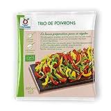 Toupargel Trio de Poivrons 600 g Surgelé