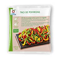 TOUPARGEL - Trio de poivrons - 600 g - Surgelé