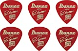 Ibanez Paul Gilbert Lot de 5 médiators Candy Apple
