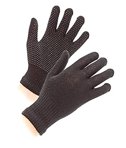 Shires Equestrian kid's Sure Grip Gloves - Black, One Size