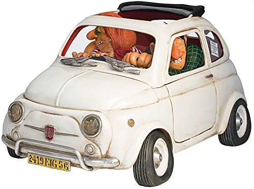 """Forc Hino Fiat 500'Guillermo Forchino-Statuetta """"Little Jewel Petit Bijou"""