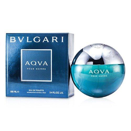 Bvlgari Aqva Pour Homme Atlantique Eau de Toilette Spray–100ml (Aqva Eau Bvlgari Homme De Toilette Pour)