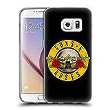 Head Case Designs Offizielle Guns N' Roses Kugel Logo Kunst Soft Gel Hülle für Samsung Galaxy S7