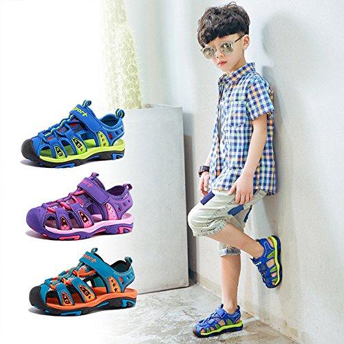 Gloria JR Kinder Outdoor Athletic Sandale F¨¹r Jungen Kinder Lila(Purple)