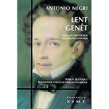 LENT GENÊT: Essai sur l'ontologie de Giacomo Leopardi