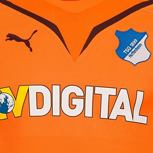 PUMA Herren Trikot Hoffenheim GK Shirt Promo neon orange