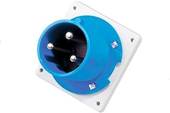 Sibass 16A 3 Pin Rev Plug - IP67