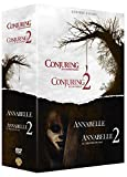 Warren - Collection de 4 films - Annabelle et Conjuring - Coffret DVD
