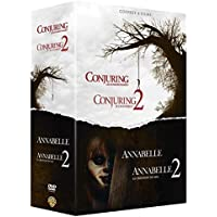 Warren - Collection de 4 films - Annabelle et Conjuring - Coffret DVD