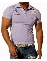 Rusty Neal Herren Polo T-Shirt 482 Lila