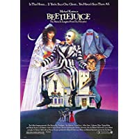 Beetlejuice Cinema Movie Film A4 Poster Print Picture 280GSM Satin Photo Paper