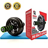 Best Ab Wheels - Dual Ab Roller Exercise Wheel & Thick Knee Review