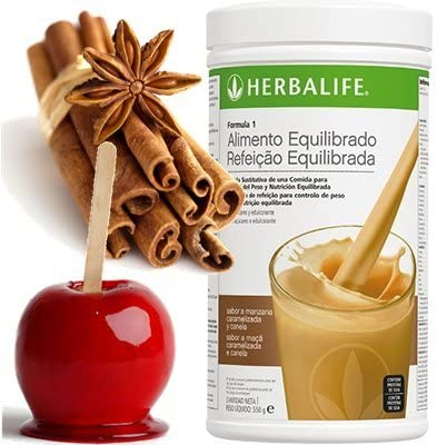 HERBALIFE Formula 1 (elegir sabor) (Manzana caramelizada & Canela)