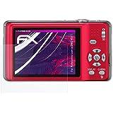 atFoliX Lámina Protectora de Cristal Panasonic Lumix DMC-FS11 Película Vidrio - FX-Hybrid-Glass