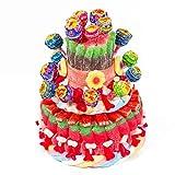 Regalo tarta chuches chupachups cumpleaños