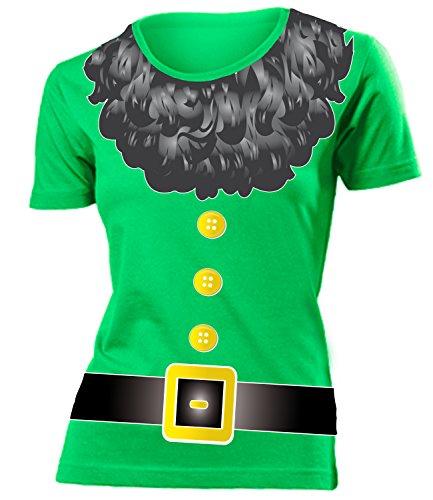 amen T-Shirt (F-Kellygreen) Gr. S (Zwerg Kostüm Bilder)