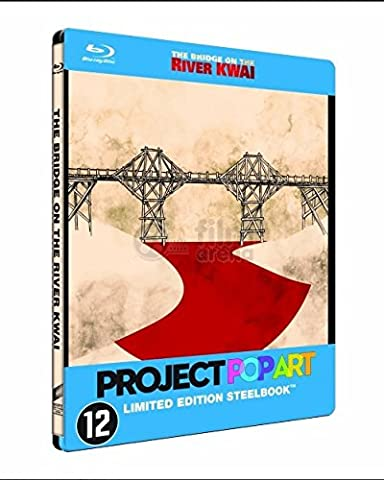 The Bridge on the River Kwai QSlip POP ART WAVE Steelbook™ Limited Collector's Edition + Gift Steelbook's™ foil Blu-ray Only 300 made (Import)