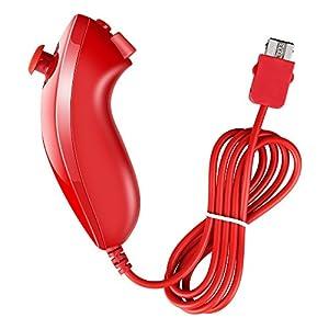 Prous XW09 WII Nunchuk für Nintendo Wii-Rot