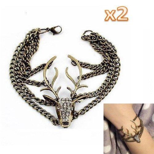 pulsera-sodialr-2pzs-pulsera-de-ciervos-de-la-vendimia-de-moda-bronce
