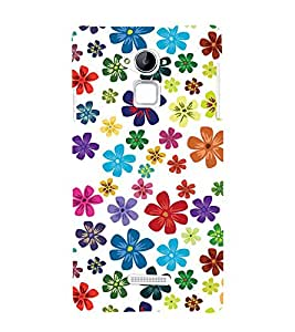 PrintVisa Designer Back Case Cover for Coolpad Note 3 (orange purple sliver yellow maryoon)