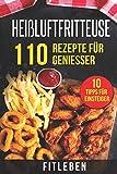 Produkt-Bild: Heißluftfritteuse: 110 Rezepte für Genießer