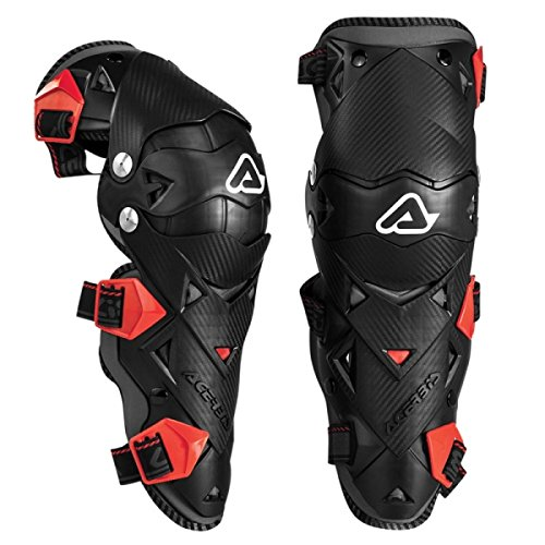 Acerbis - Rodillera Impact Evo 3.0 - Color negro/rojo