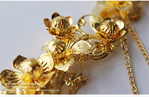 MultiKing Braut Kopfschmuck Kostüm Braut kopfschmuck Haarschmuck Quaste authentische chinesische Retro Wedding Dragon Phoenix Schmuck (Dragon Dance Kostüm)