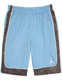 Jordan Boys Blue Printed Shorts