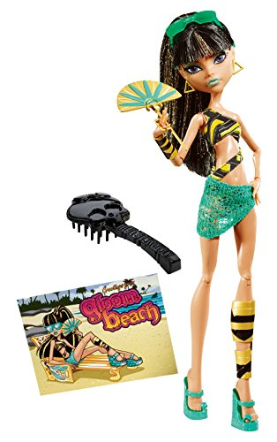 Monster High Dunkelheit Beach Cleo de Nile Puppe