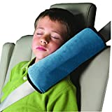 weimay verstellbar Auto-Sicherheitsgurt Autositz Schutz der Verstellbarer Schulterriemen Fahrzeug Sicherheitsgurt Stoßdämpfer Kissen Pad Baby für Kinder Kinder Erwachsene blau