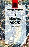 La littérature grecque par Billault