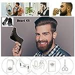 Ti piace una barba con aspetto accattivante! Ma ottenere quel look accattivante riquiede molto tempo. Fino ad ora! Vi presentiamo il taglio barba Shavermen per la cura della barba Pettine Modello Barba una dimensione adatta a tutti per Mantenere la...