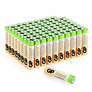 Batterien AAA Micro (LR03) Super Alkaline Vorratspack 80 Stück GP Batteries