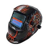 Docooler Solar Powered Welding Helmet Auto Darkening Hood Adjustable for Mig Tig Arc Welder Mask Electric Welding Mask