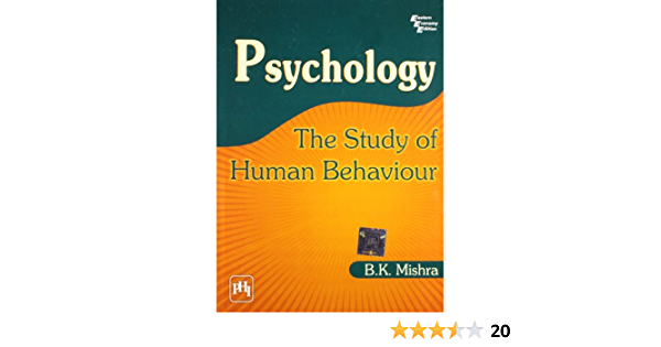 Buy Psychology The Study Of Human Behaviour Book Online At Low Prices In India Psychology The Study Of Human Behaviour Reviews Ratings Amazon In