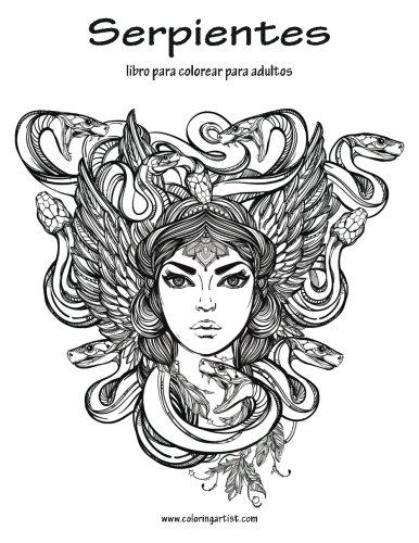 Serpientes libro para colorear para adultos 1: Volume 1 por Nick Snels
