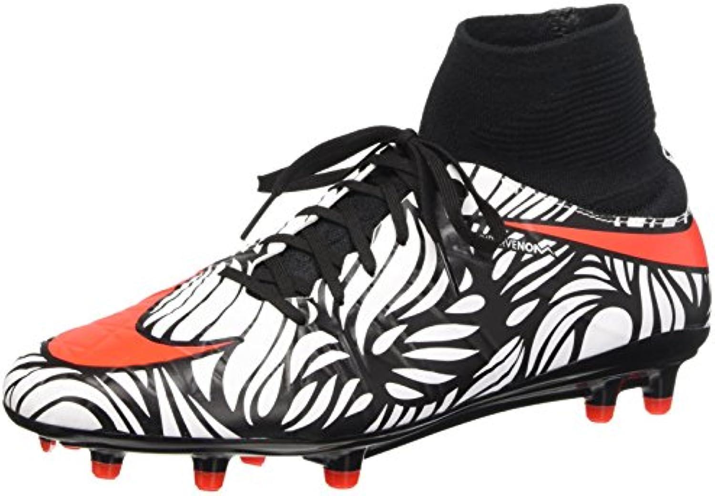 Nike Hypervenom Phatal II DF NJR FG, Botas de Fútbol para Hombre