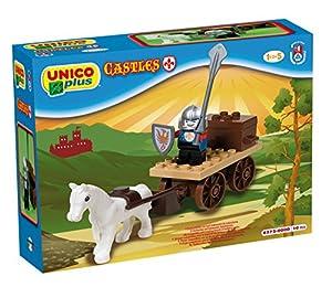 Unico 8572 Castello - Carro para Montar con Figura de Caballero (10 Piezas)