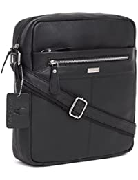 WildHorn Urban Edge 100% Genuine Leather Sling Messenger Bag