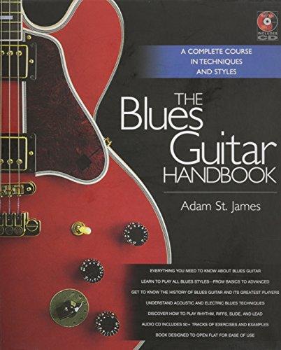 The blues guitar handbook livre sur la musique+enregistrements online