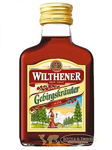 Wilthener Gebirgskräuter Kräuterlikör 0,1 Liter