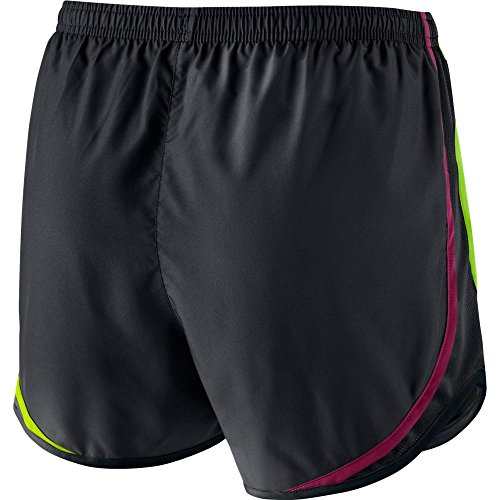 Nike Tempo Shorts da Running BLACK/BLACK/NOBLE RED/WOLF GREY